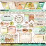 Dreamer - Stickers 12x12
