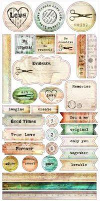 Dreamer - Stickers 6x12