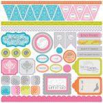 Elise Rebel - Stickers 12x12