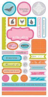 Elise Rebel - Stickers 6x12