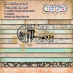 Thoughts Keeper - 6x6 pad