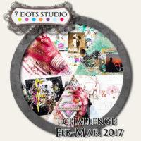 7 Dots Studio - February Challenge 2017