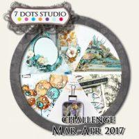 7 Dots Studio - March Challenge 2017