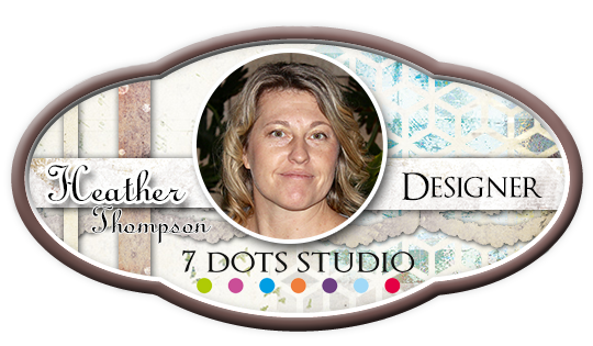 Artist Trading Coins by Heather Thompson – 7 dots studio