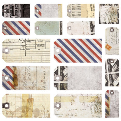Air Mail - Tag 12x12