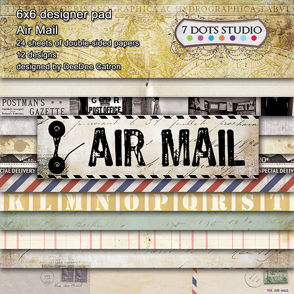 Air Mail - 6x6'' pad