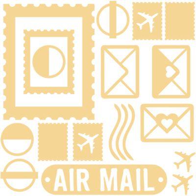 Air Mail - Chipboard