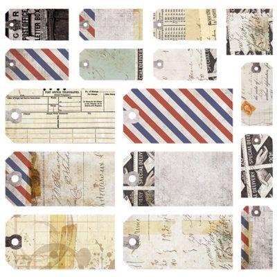 Air Mail - Tag 12x12