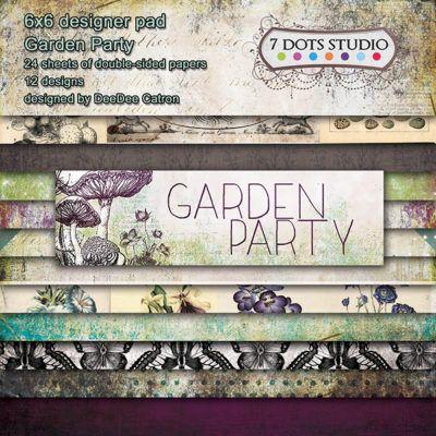 Garden Party - 6x6'' pad