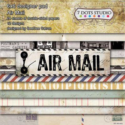 Air Mail - 6x6'' pad