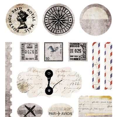 Air Mail - Element Stickers